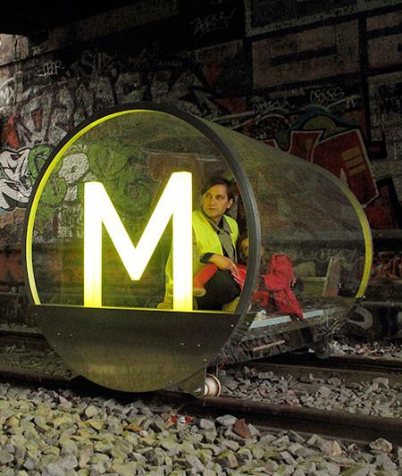 一人乗りの電車の画像(6枚目)