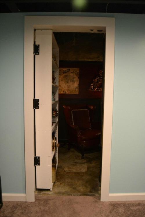 【画像】隠し扉!秘密の部屋!そんな男のロマンがある家!!の画像(4枚目)