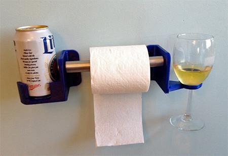 トイレでお酒が飲めるドリンクホルダーの画像(4枚目)