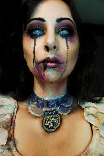 女性のメイクが怖すぎる!化粧のみで怖すぎる女性のメイクの画像の数々!!の画像(2枚目)