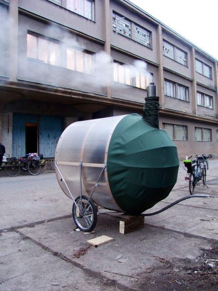 自転車サウナ03