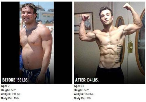 やればデキル!ダイエット肉体改造のビフォーアフターの画像の数々!!の画像(16枚目)