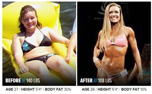やればデキル!ダイエット肉体改造のビフォーアフターの画像の数々!!の画像(21枚目)