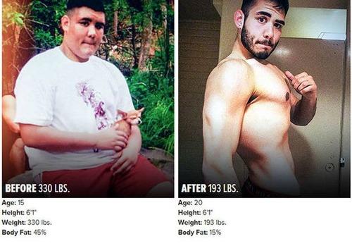やればデキル!ダイエット肉体改造のビフォーアフターの画像の数々!!の画像(2枚目)