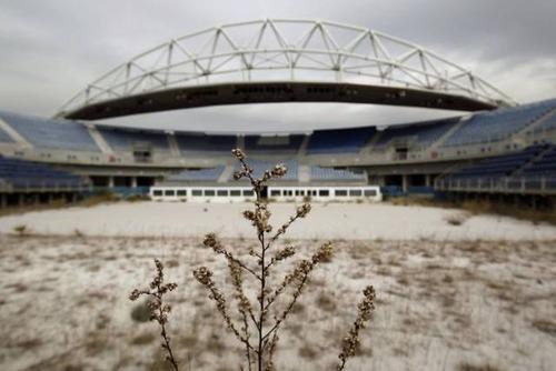 アテネのオリンピックの競技場の現在の画像(3枚目)
