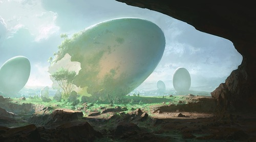 幻想的でドキドキする超巨大生物の壁紙!の画像(8枚目)