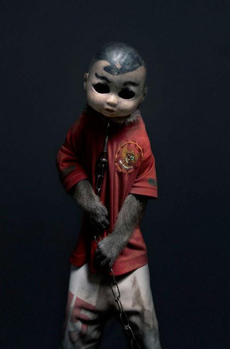 【画像】サルにマスクを被せたら凄まじく怖くなったwwwの画像(15枚目)