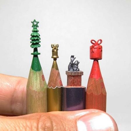 鉛筆の芯の彫刻04