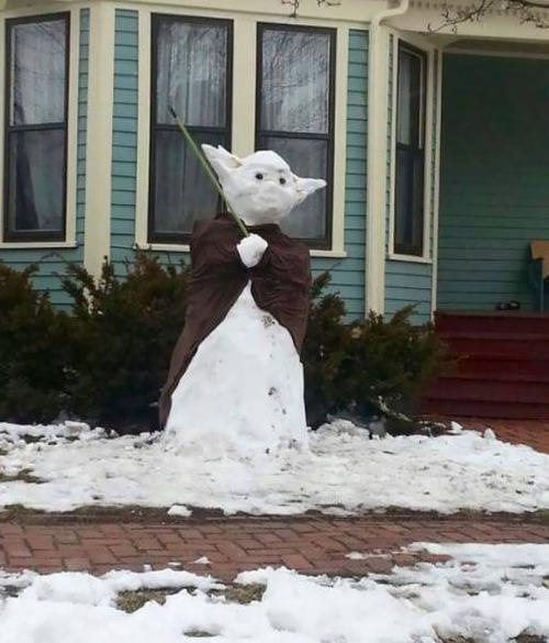 面白い雪だるまの画像(40枚目)