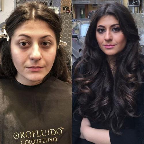 女性の化粧前、化粧後の画像の数々_25