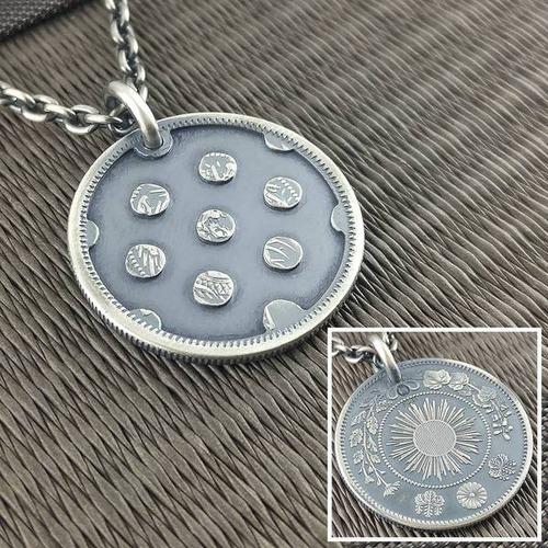 昔のコインを加工したアクセサリの画像(16枚目)