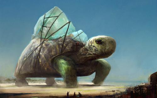 幻想的でドキドキする超巨大生物の壁紙!の画像(23枚目)