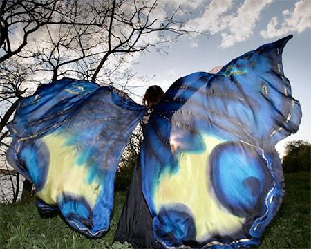 蝶や白鳥に見える美しいマントの画像11