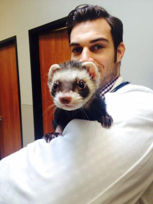 動物大好きイケメン獣医さんと動物の幸せそうな画像の数々!!の画像(24枚目)