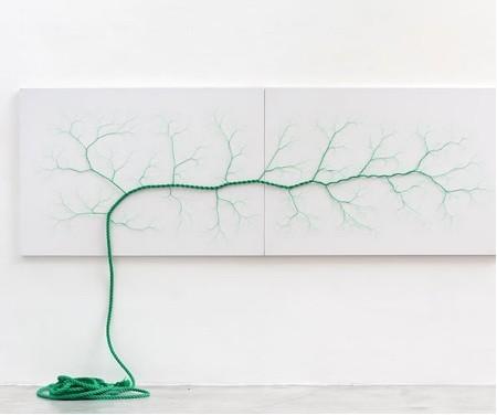 ロープをほぐして作った樹木06