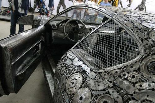 世界の名車のチールアートの画像(9枚目)