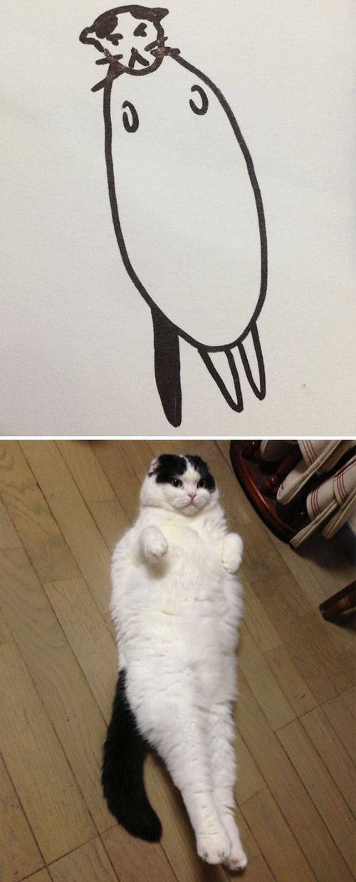 猫のイラストの画像(9枚目)