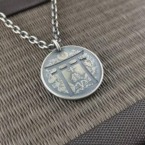 昔のコインを加工したアクセサリの画像(17枚目)