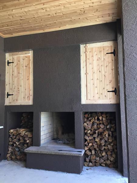 ロマンを感じる!自宅に追加で作った暖炉が凄い!!の画像(15枚目)