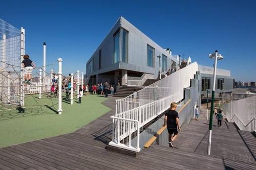 【画像】コペンハーゲンの小学校が子供の秘密基地のよう!!の画像(5枚目)
