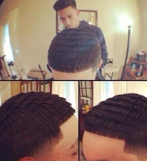 ちょっと斬新過ぎるにも程がある髪型の人たちの画像の数々!!の画像(29枚目)