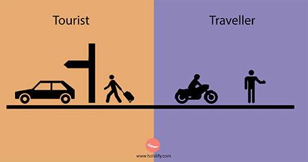 「観光客」vs「旅行者」の比較画像が分りやすい!!の画像(11枚目)