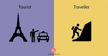 「観光客」vs「旅行者」の比較画像が分りやすい!!の画像(13枚目)