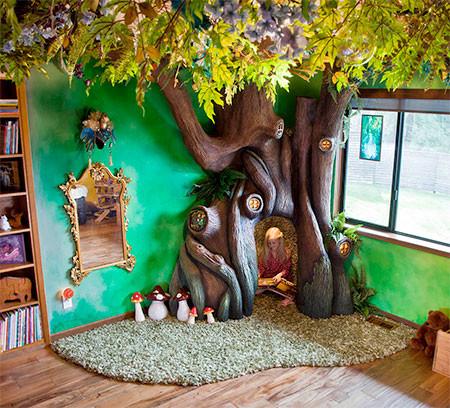 家の中に樹木の洞穴「樹洞」ができる!子供達も大喜び!!の画像(8枚目)