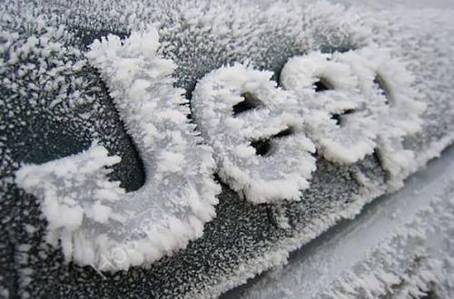 凍っている自動車の画像(28枚目)
