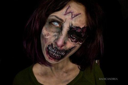 女性のメイクが怖すぎる!化粧のみで怖すぎる女性のメイクの画像の数々!!の画像(16枚目)