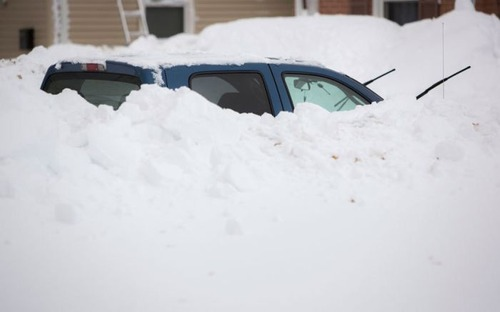 【画像】大雪のニューヨークで日常生活が大変な事になっている様子!の画像(37枚目)