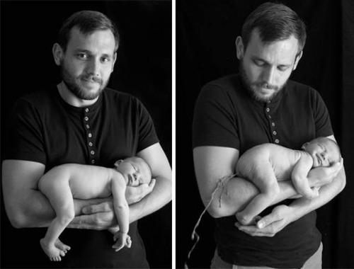赤ちゃんとの記念撮影の理想と現実の画像(9枚目)