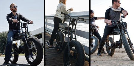 【画像】気分はアウトロー!バイクのように乗れる電動自転車!!の画像(1枚目)