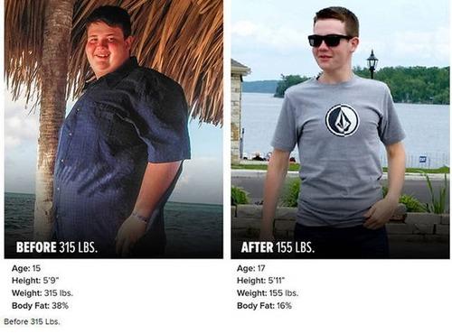やればデキル!ダイエット肉体改造のビフォーアフターの画像の数々!!の画像(3枚目)
