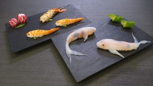美し過ぎるコイの寿司