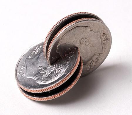 【画像】もったいないけど凄い!コインを使った面白アート!の画像(8枚目)
