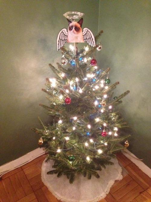 カオスなクリスマスツリーの上の飾りの画像(11枚目)