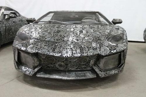 世界の名車のチールアートの画像(1枚目)