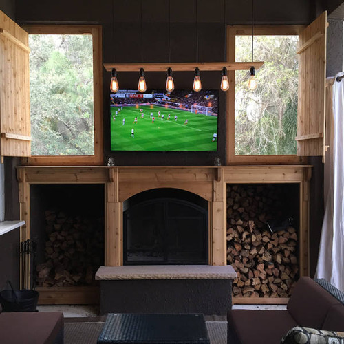 ロマンを感じる!自宅に追加で作った暖炉が凄い!!の画像(21枚目)
