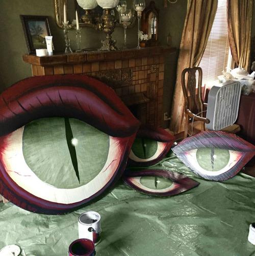 【画像】頑張りすぎにも程があるハロウィンの装飾wwwの画像(6枚目)