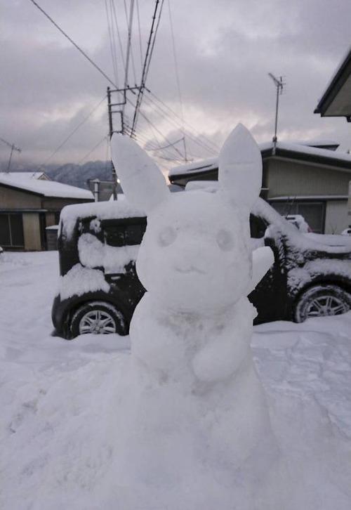 ハイクオリティな雪像の画像(18枚目)