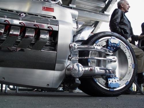 世界に10台5500万円のバイク!ダッジ・トマホークがやっぱり凄い!!の画像(4枚目)