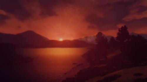 テレビゲームの風景の画像(2枚目)