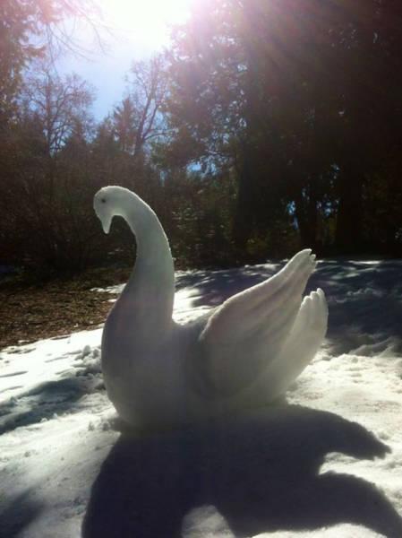 【画像】海外の雪祭りとか色々な雪像がやっぱ海外って感じで面白いwwwの画像(3枚目)