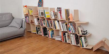 どんどん増やしてどんどん減らせる!超便利そうな本棚が凄い!!の画像(1枚目)