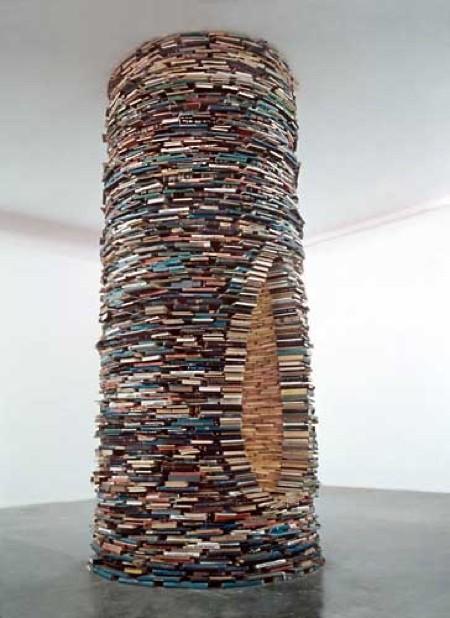 本で作ったタワー03