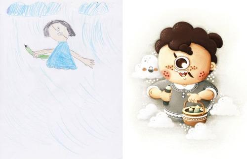 子供の落書きの画像(6枚目)