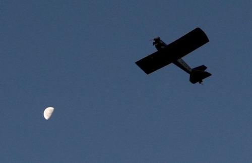 自作の飛行機で会社に通勤の画像(6枚目)