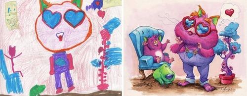 子供の落書きの画像(4枚目)