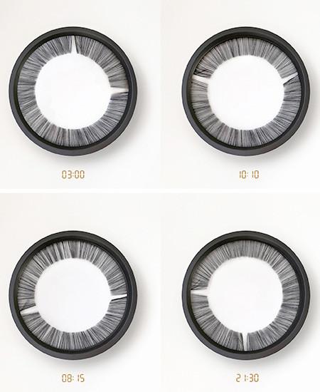 巨大な瞳のような時計の画像(3枚目)